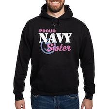 Proud Navy Sister Hoody