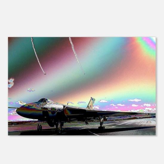 RAF Vulcan Aero-Art Postcards (Package of 8)