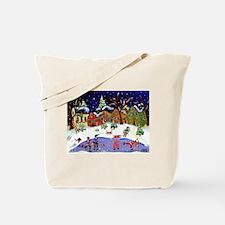 Folk Art Holiday Fun Tote Bag