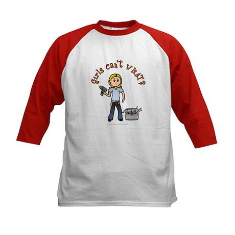 Blonde Do-It-Yourself Kids Baseball Jersey