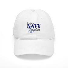 Proud Navy Grandma Baseball Cap
