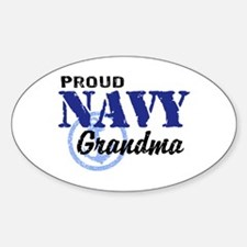 Proud Navy Grandma Decal
