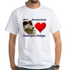 Neanderthals (Heart) Intelligent Design Shirt