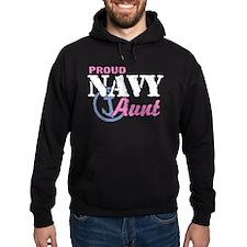 Proud Navy Aunt Hoodie