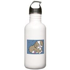 Bulldog Puppy Water Bottle