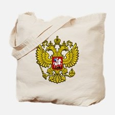 Russia Crest Tote Bag