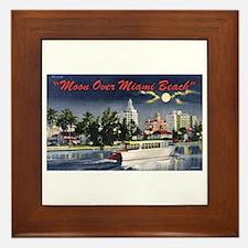 Miami Beach Framed Tile