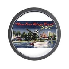 Miami Beach Wall Clock