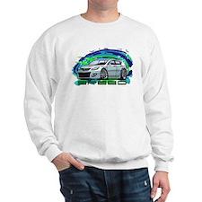 White Speed3 Sweatshirt