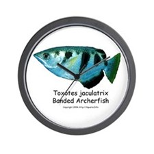Banded Archerfish Wall Clock