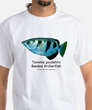Banded Archerfish White T-Shirt