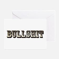 Bullshit Greeting Card