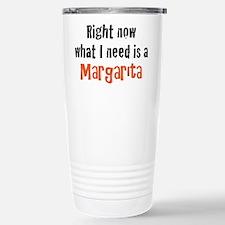 I need a Margarita Stainless Steel Travel Mug