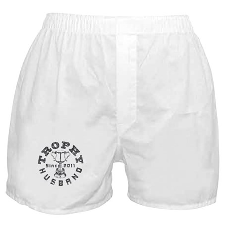 Trophy Husband Since 2011 Boxer Shorts