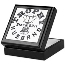 Trophy Husband Since 2011 Keepsake Box