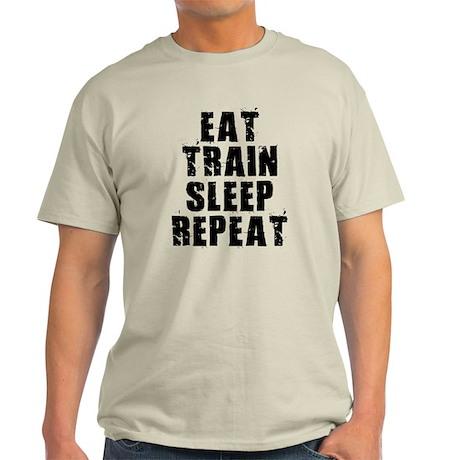Eat, Train.... Light T-Shirt