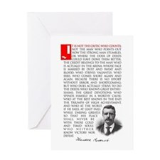 TEDDY ROOSEVELT Greeting Card