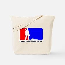 Major Leauge Zombie Hunter Tote Bag