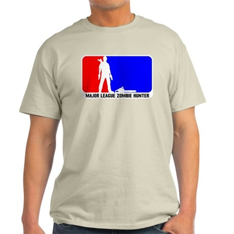 Major Leauge Zombie Hunter Light T-Shirt