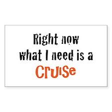 I need a Cruise Decal