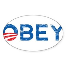 OBEY Obama Decal