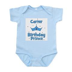 1st Birthday Prince Carter! Infant Bodysuit