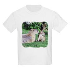 Capybara Mom and Son Kids T-Shirt