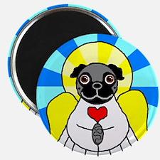 Pug Angel - Black Magnet