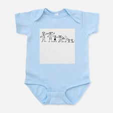 My Zombie Family Infant Bodysuit