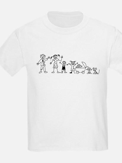 My Zombie Family T-Shirt