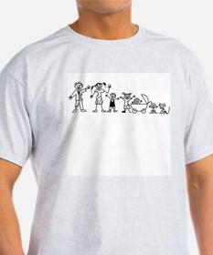 My Zombie Family T-Shirt
