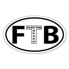 FTB Oval decal Decal