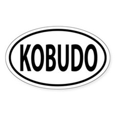 Kobudo Oval decal Decal