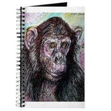 Chimp, striking, adorable, Journal