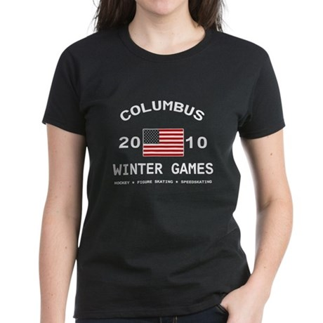 Winter Games Women's Dark T-Shirt