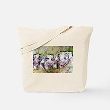 Three Little Pigs, Cute, Tote Bag
