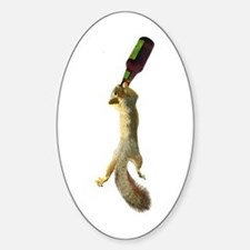 Squirrel with Beer Decal