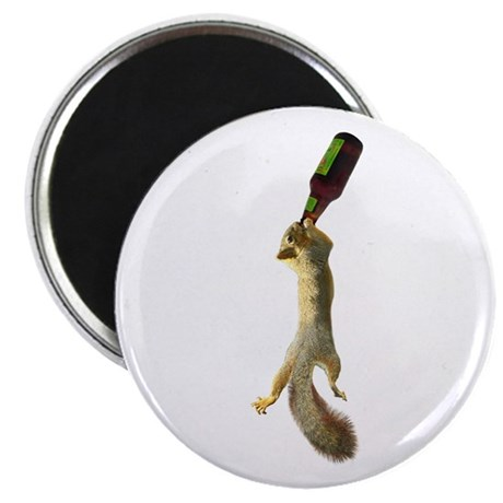 Squirrel with Beer Magnet