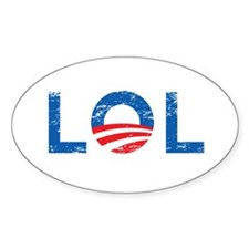 LOL Anti-Obama Decal