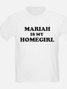 Mariah Is My Homegirl Kids T-Shirt