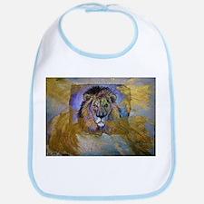 Lion, colorful, Bib