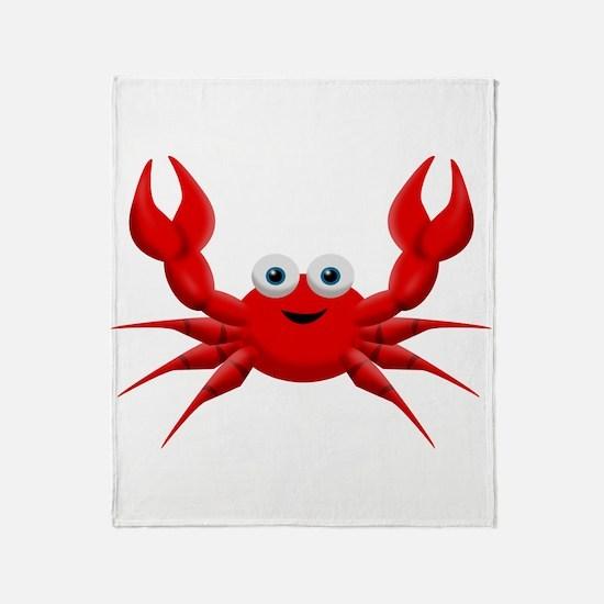 Crab Throw Blanket