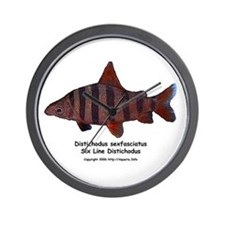 Distichodus sexfasciatus Wall Clock