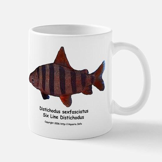 Distichodus sexfasciatus Mug