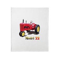 The Model 22 Throw Blanket