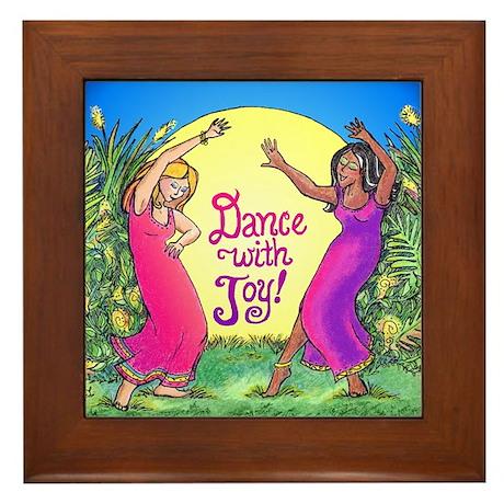 Dance With Joy Framed Tile