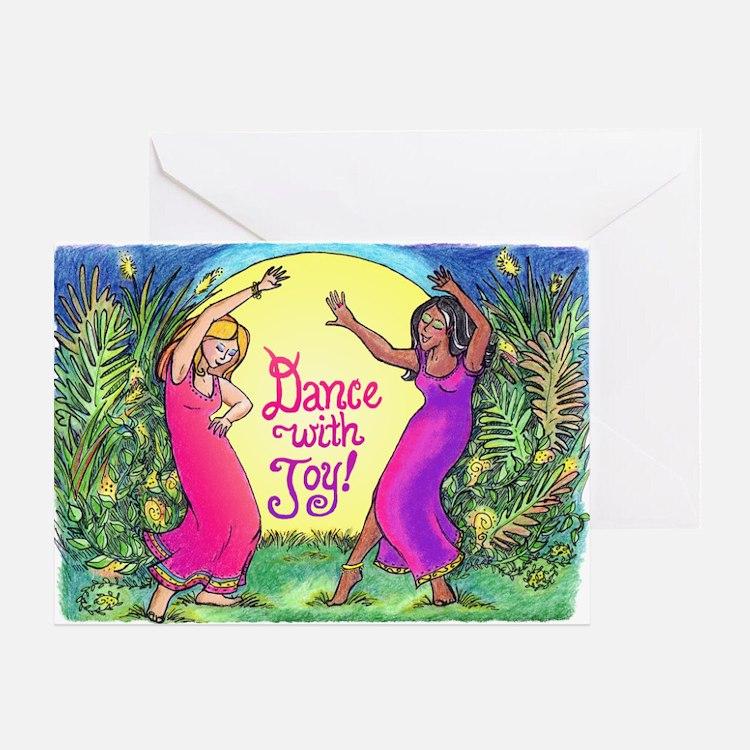 Dance With Joy Greeting Card