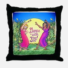 Dance With Joy Throw Pillow