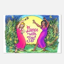 Dance With Joy Postcards (Package of 8)