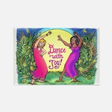Dance With Joy Rectangle Magnet
